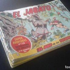 Tebeos: LOTE 23 TEBEOS / CÓMIC ORIGINAL EL JABATO N 22 A 119 1959 ORIGINALES. Lote 131119660