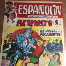 Tebeos: ESPAÑOLIN. NÚMERO 10 (ÚLTIMO DE LA COLECCIÓN).. Lote 150375444