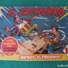 Tebeos: EL CACHORRO Nº 197 RAYOS Y TRUENOS EDITORIAL BRUGUERA ORIGINAL. Lote 131184840