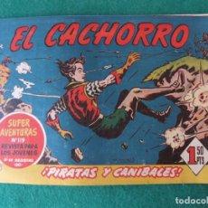 Tebeos: EL CACHORRO Nº 192 PIRATAS Y CANIBALES EDITORIAL BRUGUERA ORIGINAL. Lote 131184928