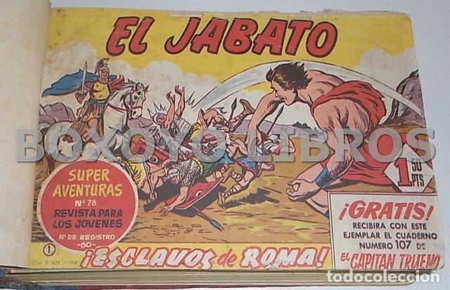 EL JABATO. COLECCIÓN COMPLETA ORIGINAL ENCUADERNADA CON CUBIERTAS ORIGINALES. 1958-1966 (Tebeos y Comics - Bruguera - Jabato)