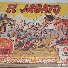 Tebeos: EL JABATO. COLECCIÓN COMPLETA ORIGINAL ENCUADERNADA CON CUBIERTAS ORIGINALES. 1958-1966. Lote 131214408