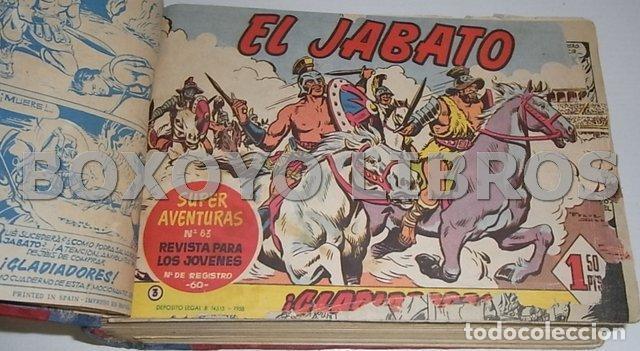 Tebeos: El jabato. Colección completa original encuadernada con cubiertas originales. 1958-1966 - Foto 6 - 131214408