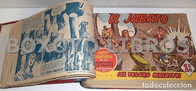 Tebeos: El jabato. Colección completa original encuadernada con cubiertas originales. 1958-1966 - Foto 7 - 131214408