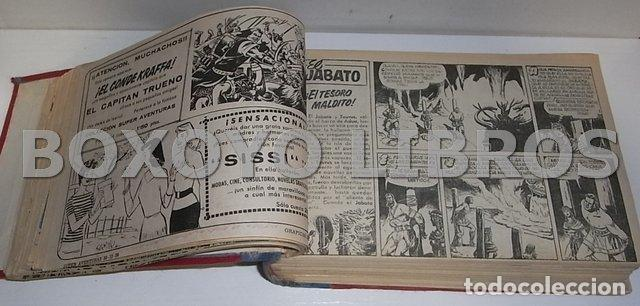 Tebeos: El jabato. Colección completa original encuadernada con cubiertas originales. 1958-1966 - Foto 8 - 131214408