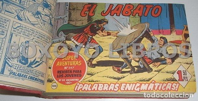 Tebeos: El jabato. Colección completa original encuadernada con cubiertas originales. 1958-1966 - Foto 9 - 131214408