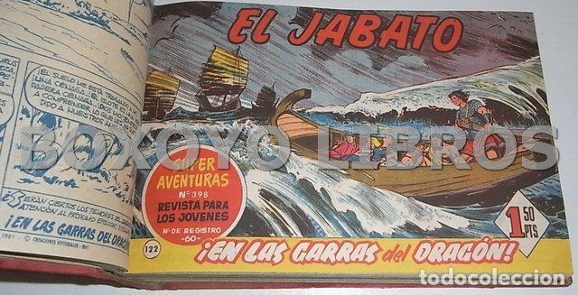 Tebeos: El jabato. Colección completa original encuadernada con cubiertas originales. 1958-1966 - Foto 10 - 131214408