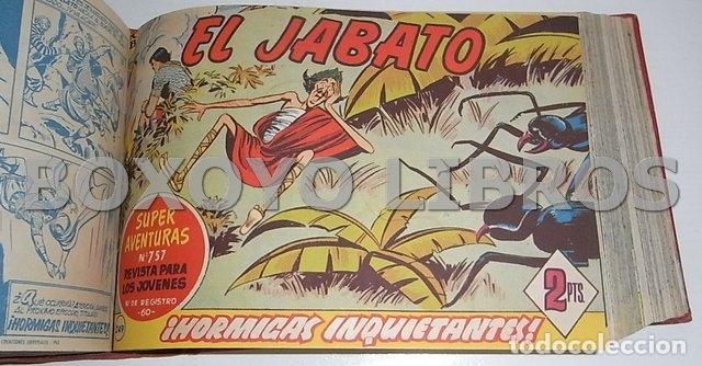 Tebeos: El jabato. Colección completa original encuadernada con cubiertas originales. 1958-1966 - Foto 14 - 131214408