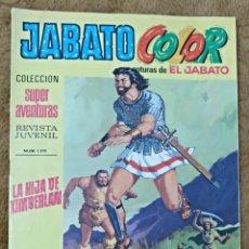 Tebeos: JABATO COLOR Nº 14 (BRUGUERA 1ª EPOCA 1969). Lote 131363430