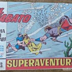 Tebeos: EL JABATO Nº 365 (BRUGUERA 1965). Lote 131363890