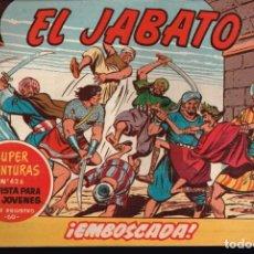 Tebeos: EL JABATO . Nº-198 EMBOSCADA .ORIGINAL. 1962. Lote 131488214