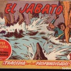 Tebeos: EL JABATO . Nº-182 TRAGEDIA EN LAS PROFUNDIDADES .ORIGINAL. 1962. Lote 131488370