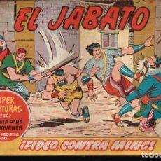 Tebeos: EL JABATO . Nº-274 FIDEO CONTRA MING .ORIGINAL. 1964. Lote 131488774