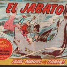 Tebeos: EL JABATO . Nº-193 LAS NAVES DE TARIK .ORIGINAL. 1962. Lote 131491542