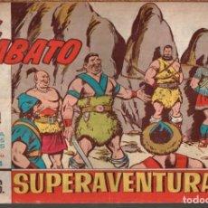 Tebeos: EL JABATO . Nº-374 LOS TUINS ATACAN .ORIGINAL. 1965. Lote 131492086