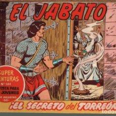 Tebeos: EL JABATO . Nº-184 EL SECRETO DEL TORREON .ORIGINAL. 1962. Lote 131492598