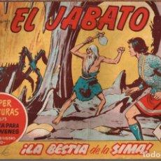Tebeos: EL JABATO . Nº-181 LA BESTIA DE LA SIMA .ORIGINAL. 1962. Lote 131492770