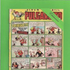 Tebeos: PULGARCITO - Nº 119 - ÁLBUM INFANTIL - EL REPORTER TRIBULETE, DEMASIADAS PRECAUCIONES - (1949).. Lote 131550538