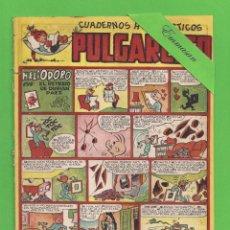 Tebeos: PULGARCITO - Nº 141 - CUADERNOS HUMORÍSTICOS - HELIODORO EN RETRATO DE DURIAN PAEZ - (1950).. Lote 131553426