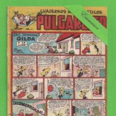 Tebeos: PULGARCITO - Nº 147 - CUADERNOS HUMORÍSTICOS - LAS HERMANAS GILDA Y LA LLAVE - (1950) - BRUGUERA.. Lote 131554526