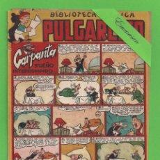 Tebeos: PULGARCITO - Nº 164 - BIBLIOTECA CÓMICA - CARPANTA SUEÑO INTERRUMPIDO - (1950) - BRUGUERA.. Lote 131556050