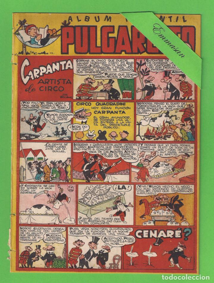 PULGARCITO - Nº 169 - ÁLBUM INFANTIL - CARPANTA ARTISTA DE CIRCO - (1950) - BRUGUERA. (Tebeos y Comics - Bruguera - Pulgarcito)