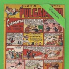 Tebeos: PULGARCITO - Nº 169 - ÁLBUM INFANTIL - CARPANTA ARTISTA DE CIRCO - (1950) - BRUGUERA.. Lote 131556522