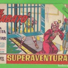Tebeos: EL JABATO - Nº 328 - ¡UNA TRETA DE GIAFFAR! - (1965) - BRUGUERA.. Lote 131577238
