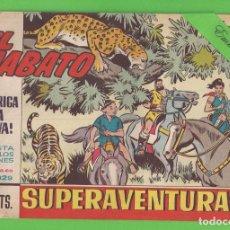 Tebeos: EL JABATO - Nº 329 - ¡INTRIGA EN LA SELVA! - (1965) - BRUGUERA.. Lote 131577338