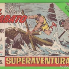 Tebeos: EL JABATO - Nº 338 - ¡PERDIDOS EN LA NIEBLA! - (1965) - BRUGUERA.. Lote 131578330
