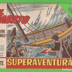 Tebeos: EL JABATO - 355 - ¡EL ARQUERO IMPLACABLE! - (1965) - BRUGUERA.. Lote 131580346