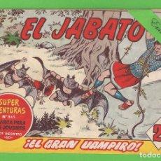 Tebeos: EL JABATO - Nº 303 - ¡EL GRAN VAMPIRO! - (1964) - BRUGUERA.. Lote 131590102