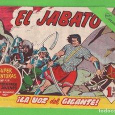 Tebeos: EL JABATO - Nº 142 - ¡LA VOZ DEL GIGANTE! - (1961) - BRUGUERA.. Lote 131611542