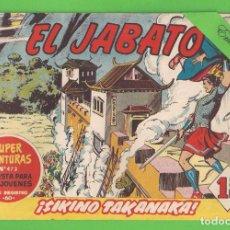 Tebeos: EL JABATO - Nº 147 - ¡SIKINO TAKANAKA! - (1961) - BRUGUERA.. Lote 131612062