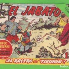 Tebeos: EL JABATO - Nº 148 - ¡EL RASTRO DEL ''TIBURÓN''! - (1961) - BRUGUERA.. Lote 131612162