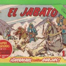 Tebeos: EL JABATO - Nº 152 - ¡GUERREROS CONTRA OVEJAS! - (1961) - BRUGUERA.. Lote 131613106