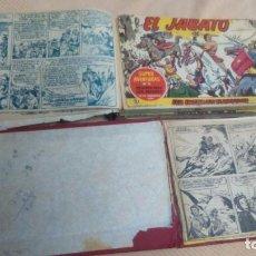 Tebeos: EL JABATO (2 TOMOS-130 COMICS) AÑOS 58-59-61 Y 1962 (BRUGUERA). Lote 131619066