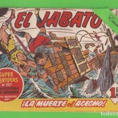 Tebeos: EL JABATO - Nº 57 - ¡LA MUERTE AL ACECHO! - (1959) - BRUGUERA.. Lote 131619890