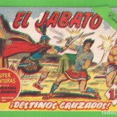 Tebeos: EL JABATO - Nº 86 - ¡DESTINOS CRUZADOS! - (1960) - BRUGUERA.. Lote 131626318