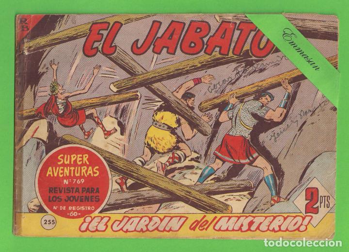 EL JABATO - Nº 255 - ¡EL JARDÍN DEL MISTERIO! - (1963) - BRUGUERA. (Tebeos y Comics - Bruguera - Jabato)