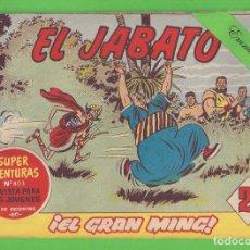 Tebeos: EL JABATO - Nº 272 - ¡EL GRAN MING! - (1963) - BRUGUERA.. Lote 131630990