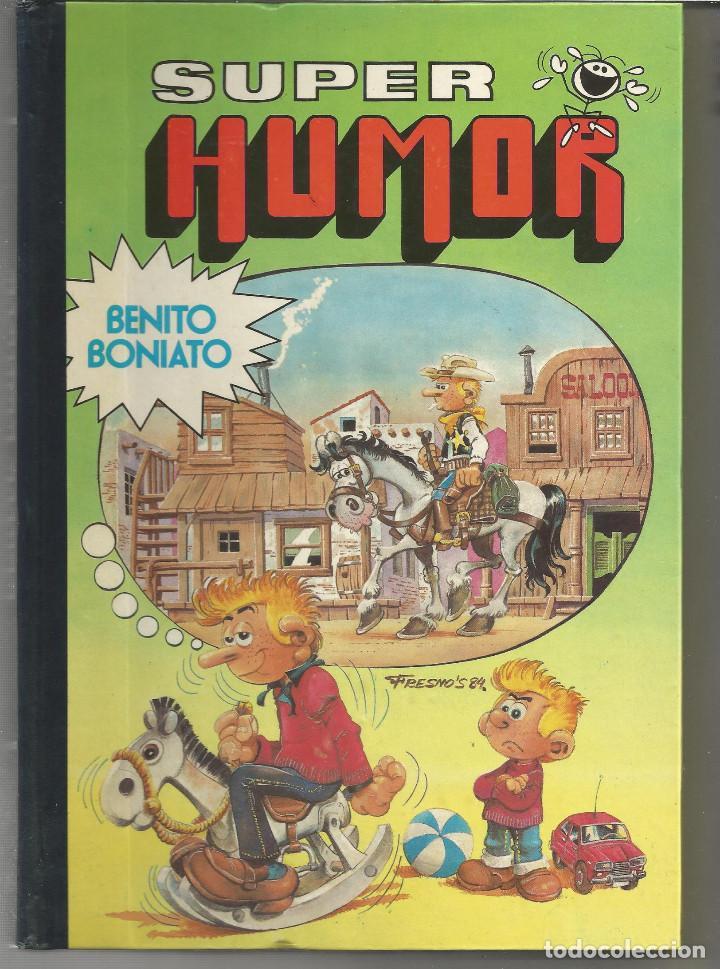 SUPER HUMOR BENITO BONIATO Nº 1 EDITORIAL BRUGUERA (Tebeos y Comics - Bruguera - Super Humor)