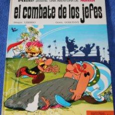 Tebeos: EL COMBATE DE LOS JEFES - ASTERIX - PILOTE - BRUGUERA - 1ª EDICIÓN (1969). Lote 131691602