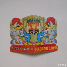 Tebeos: MINITROQUELADOS TELE COLOR Nº 20 - CORRERÍAS DE PÁJARO LOCO - BRUGUERA 1966. Lote 131754778
