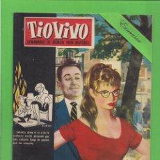 Tebeos: TIO VIVO - Nº 63 - SEMANARIO DE HUMOR PARA MAYORES - CRISOL / BRUGUERA. (1958). 1ª EDICIÓN.. Lote 131789306
