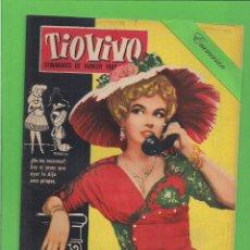 BDs: TIO VIVO - Nº 70 - SEMANARIO DE HUMOR PARA MAYORES - CRISOL / BRUGUERA. (1958). 1ª EDICIÓN.. Lote 131790066