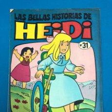 Tebeos: LAS BELLAS HISTORIAS DE HEIDI - Nº 31 - LA DEMOSTRACIÓN DE CLARA - DE DISTRIBUIDORA DE COMIC. Lote 131934534