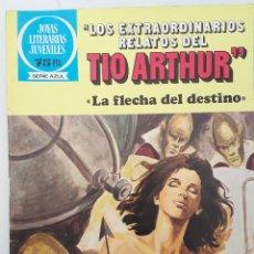 Tebeos: LOS EXTRAORDINARIOS RELATOS DEL TIO ARTHUR. JOYAS LITERARIAS JUVENILES.. Lote 131980287