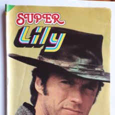 Tebeos: SUPER LILY. CLINT EASWOOD.. Lote 132022753