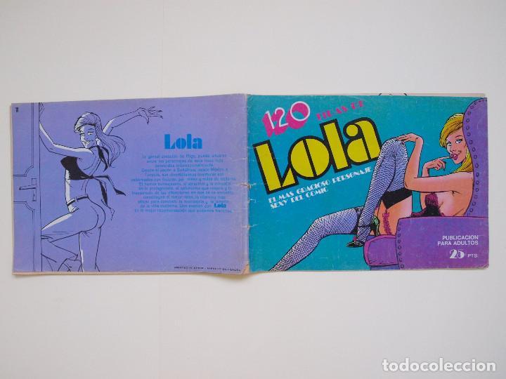 Tebeos: COLECCION COMPLETA DE LOLA - 28 REVISTAS CON 120 TIRAS DE PRENSA - EDITORIAL BRUGUERA 1974 - Foto 8 - 132221962